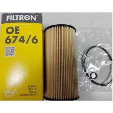 Фильтр масляный (Hyundai ix35, Santa FE II; Kia Carnival III) FILTRON OE6746