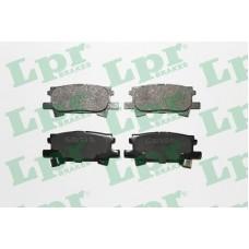 Колодки тормозные задние (Lexus 300,350,400) LPR 05P1436 (0446648060)
