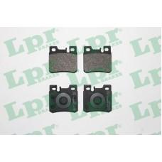 Колодки тормозные задние (MB c,e-class W202,210,124) LPR 05P428 (A0014209520)