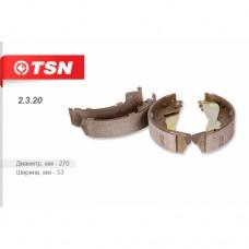 Колодки задние (барабанные) (HYUNDAI/KIA Porter) TSN 2.3.20  (BK4158)